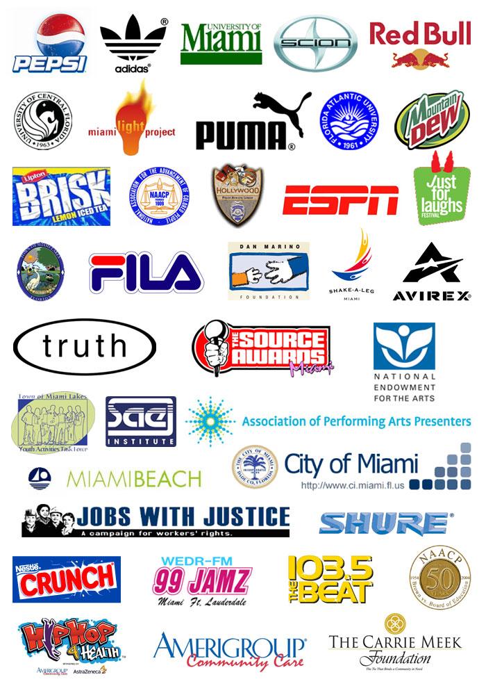 Sponsor Logo Event Design