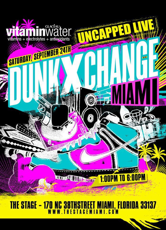 DunkXChange Flyer