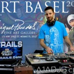 Dj Trails Art Basel Miami