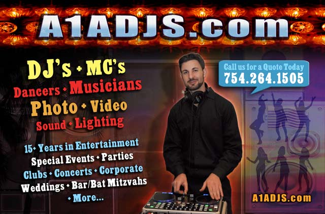 DJ in Miami, Fort Lauderdale, West Palm Beach