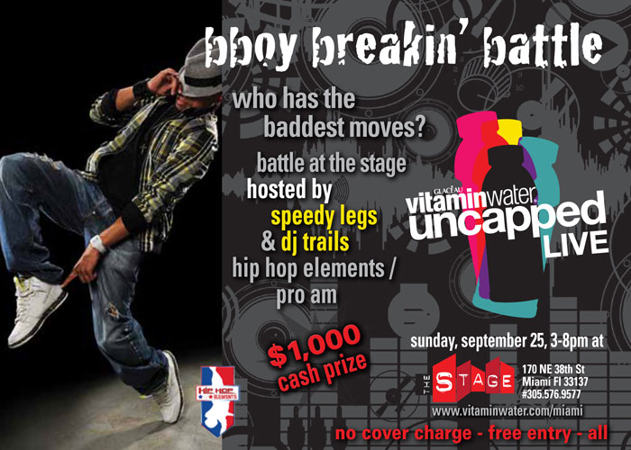 Vitamin Water Breakdance Battle Miami