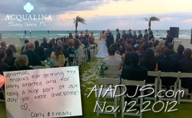 Miami Wedding DJ