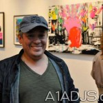 The Artist, Miguel Paredes in Miami Gallery
