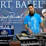 Dj Trails Art Basel Miami