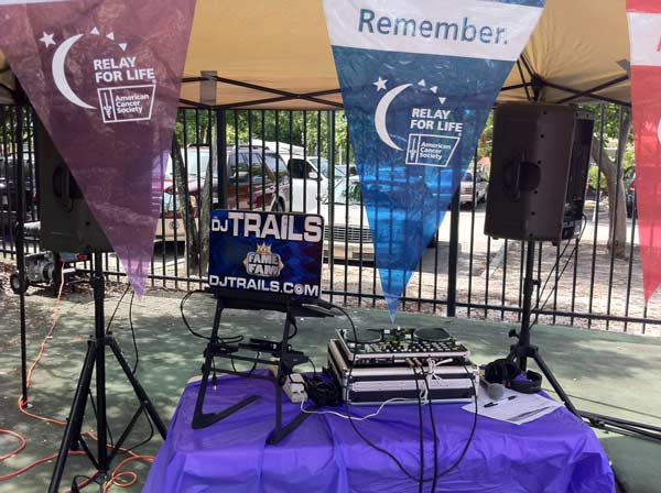 Relay for Life DJ Miami American Cancer Society